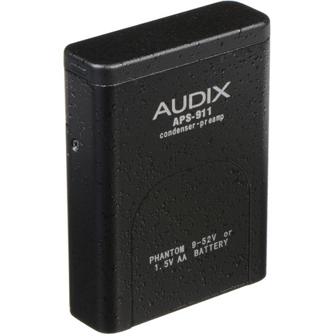 Audix APS911 AA Battery PhantomPower Adapter for ADX40 - ADX60 - MicroD - HT5