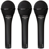 Audix OM2 Trio Dynamic Vocal Microphones