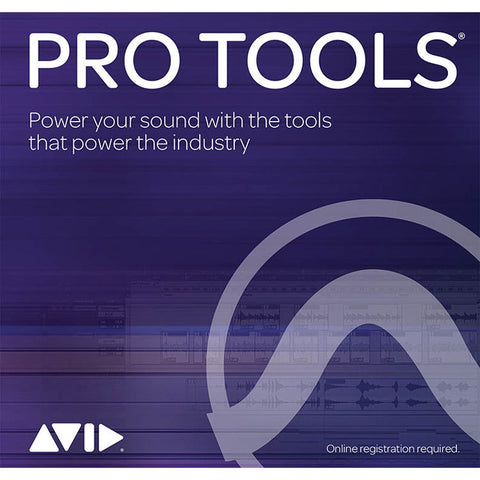 Avid Pro Tools Perpetual 1-Year Updates + Support Plan Reinstatement Educational