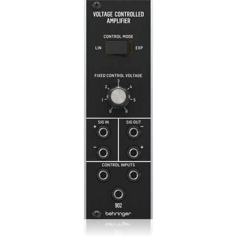 Behringer 902 VOLTAGE CONTROLLED AMPLIFIER Eurorack Module