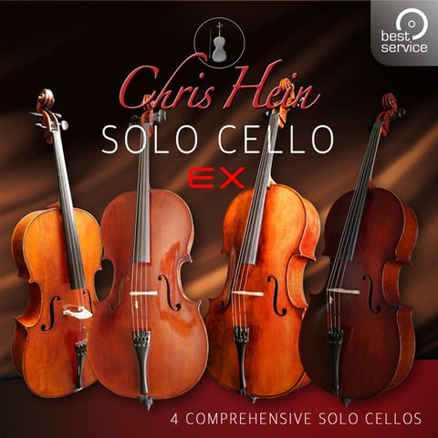 Best Service Chris Hein Solo Cello EXtended