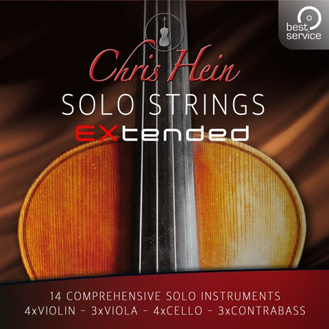Best Service Chris Hein Solo Strings Complete Crossgrade