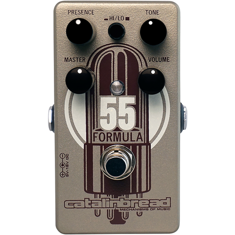 Catalinbread Formula No. 55 Overdrive Pedal