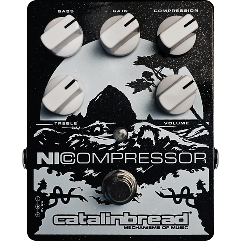 Catalinbread Nicompressor Pedal (Silver Black)