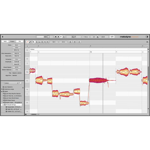 Celemony Melodyne Assistant 5 Upgrade from Assistant