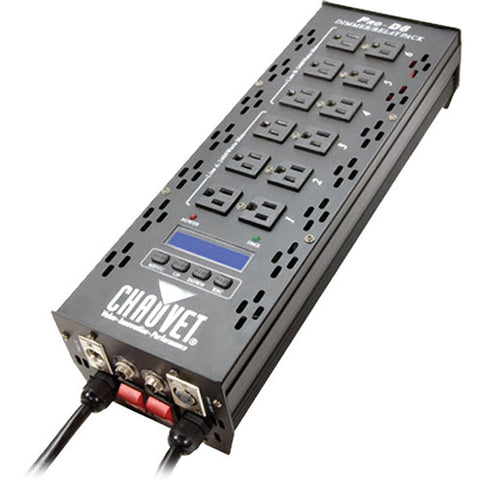 Chauvet Pro D6 Dimmer Pack (6-Channel DMX-512)