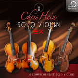 Best Service Chris Hein Solo Strings Complete Upgrade Violin