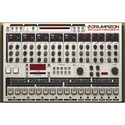 D16 Group Drumazon Virtual Drum Machine