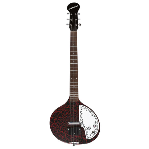 Danelectro Baby Sitar (Red Crackle)