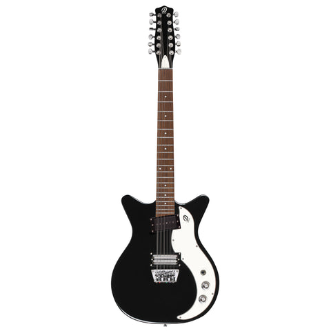Danelectro D59X 12-String Guitar (Black)