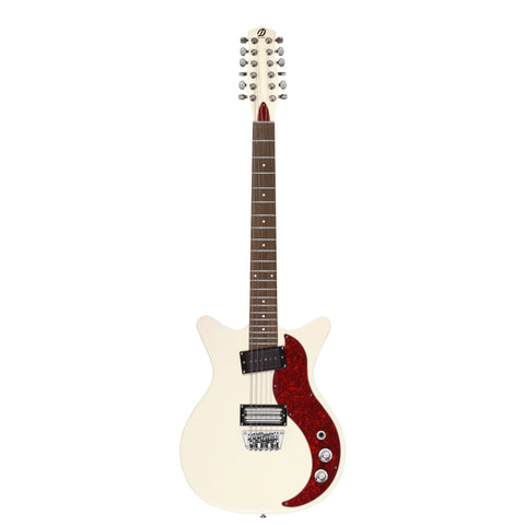 Danelectro D59X 12-String Guitar (Cream)