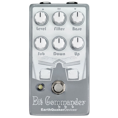 EarthQuaker Devices Bit Commander - Analog Octave Synth Pedal (V2)