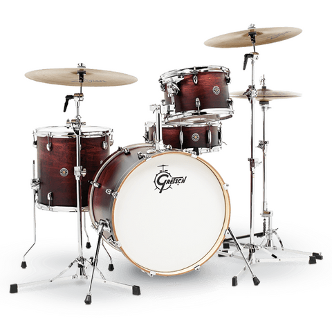 "Gretsch Drums Catalina Club 4-Piece - Bass Drum (18"") and Snare (Satin Antique)"