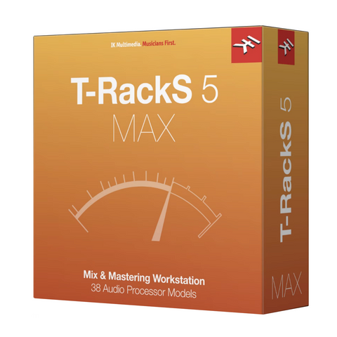 IK Multimedia T-RackS MAX Includes All T-RackS Custom Shop