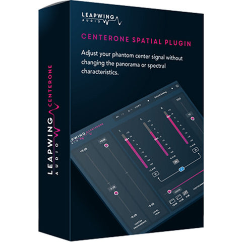 Leapwing Audio CenterOne Center Manipulation Plug-In