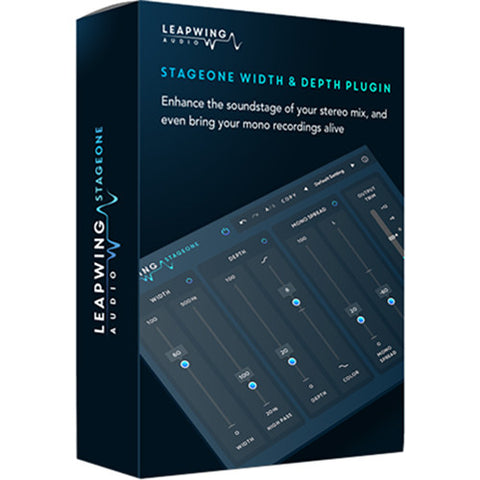 Leapwing Audio StageOne Width & Depth Plug-In