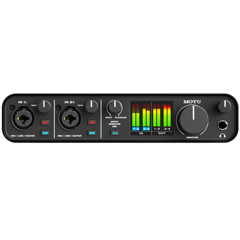 MOTU M4 Audio Interface (4x4 USB-C)