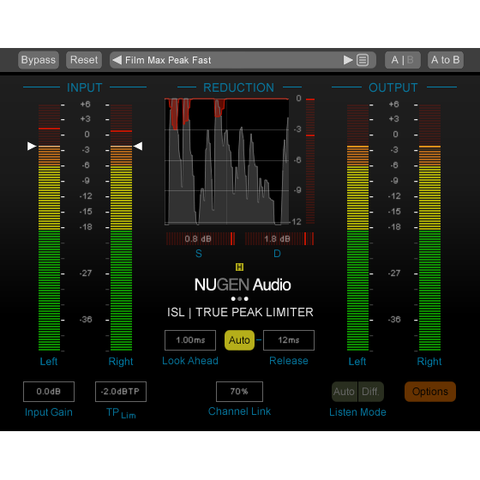 NUGEN Audio ISL True Peak Limiter