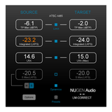 NUGEN Audio Loudness Toolkit with DSP