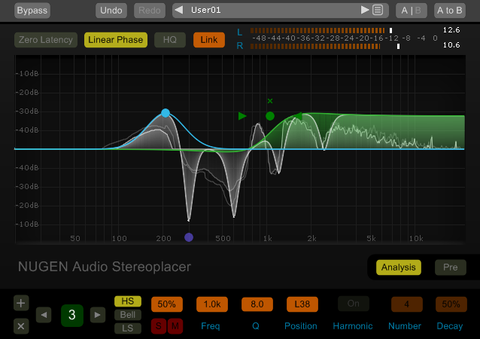 NUGEN Audio Stereoplacer Frequency Panner