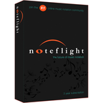 Noteflight Music Notation 3-Year Subscription