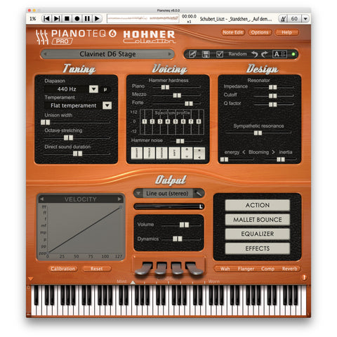 Pianoteq Hohner Collection Virtual Instrument