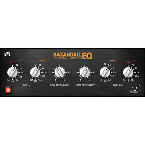PreSonus Baxandall EQ Fat Channel Plug-In