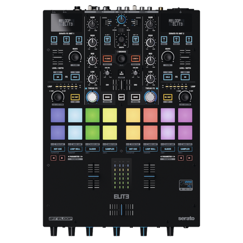 Reloop Elite DVS Mixer for Serato (2-Channel)