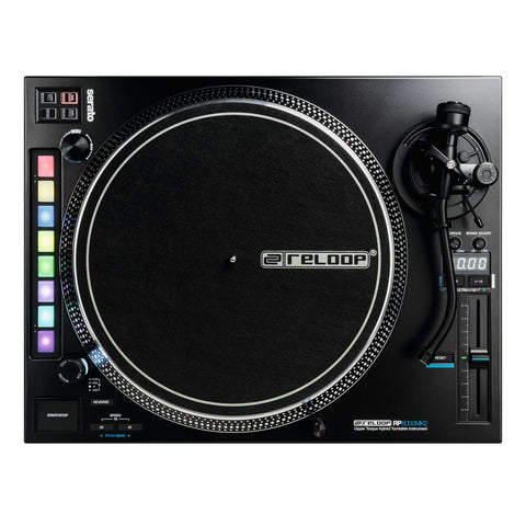 Reloop RP-8000 MK2 DJ Turntable for Serato (Direct-Drive)