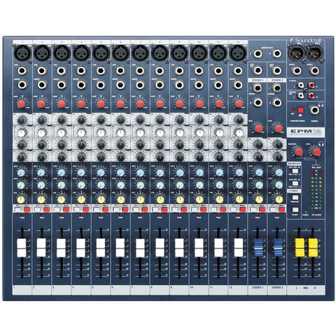 Soundcraft EPM12 14-Channel Analog Mixer