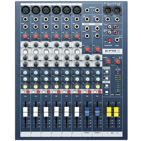 Soundcraft EPM6 8-Channel Analog Mixer
