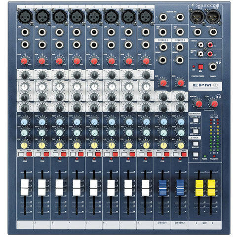 Soundcraft EPM8 10-Channel Analog Mixer