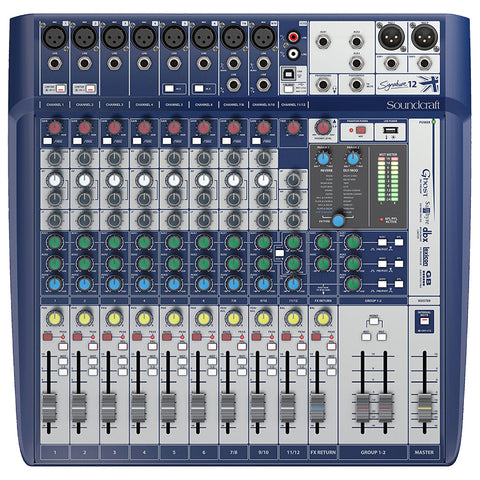 Soundcraft Signature 12 Mixer with Effects
