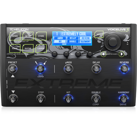 TC Helicon VoiceLive 3 Extreme Multi-Effects Processor