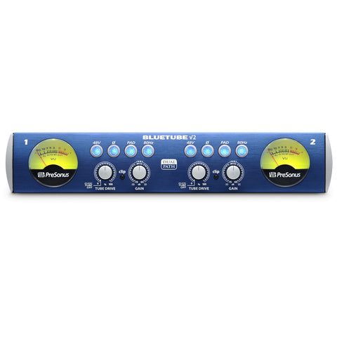 PreSonus Blue Tube DP v2 Micropohone Instrument Preamplifier (2 Channel)