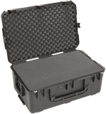 SKB iSeries Utility Case (Cubed Foam) - 3i-2918-10BC (Retractable Handle & Wheels) - Waterproof Injection Molded