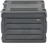 SKB Rack Case (8U) - 1SKB-R8W (Retractable Handle & Wheels) - Roto Molded