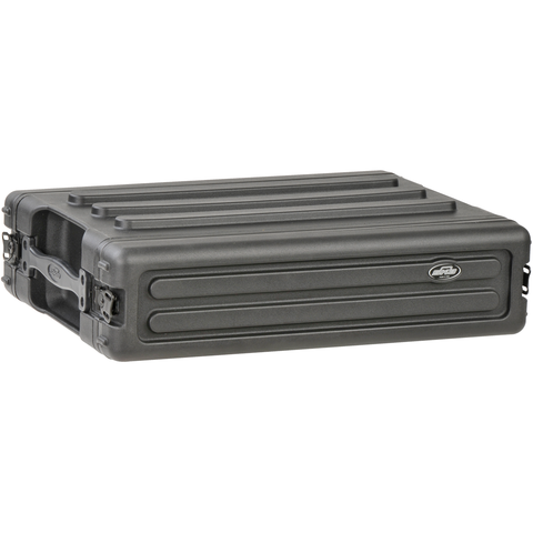 SKB 1SKB-R2S Rack Case Shallow (2U) - Roto Molded