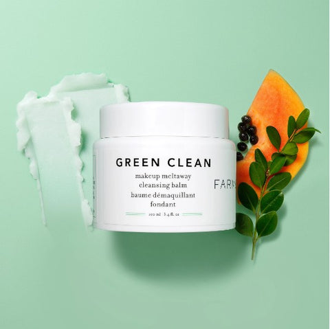 FARMACY Green Clean Makeup Meltaway Cleansing Balm (50ml/100ml) (baume démaquillant fondant)5