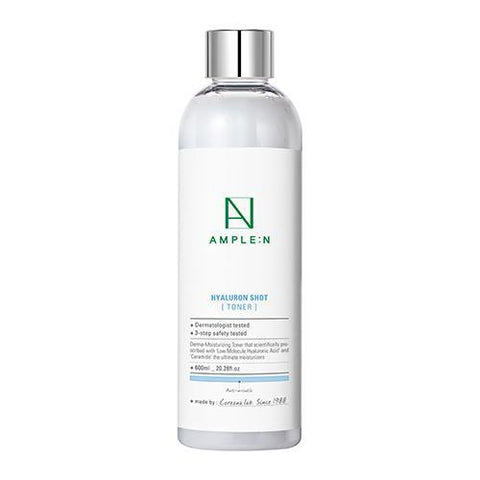 [AMPLE:N] HyaluronShot Toner 600ml *BIG SIZE*