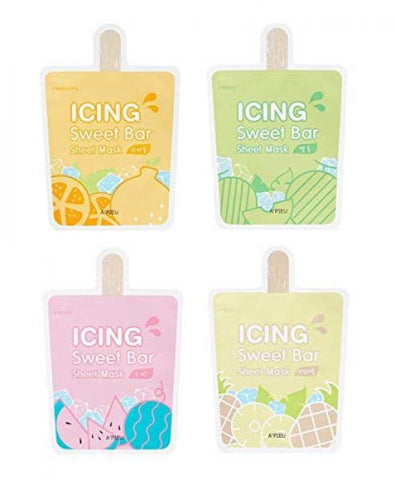 [A'PIEU] Icing Sweet Bar Sheet Mask (4 Types)
