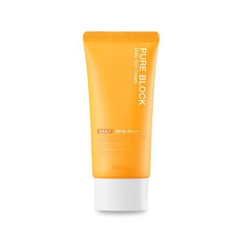 [A'PIEU] Pure Block Natural Daily Sun Cream (50ml)