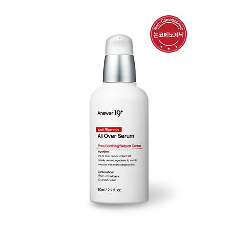 [Answer 19+] Anti Blemish All Over Serum 80ml