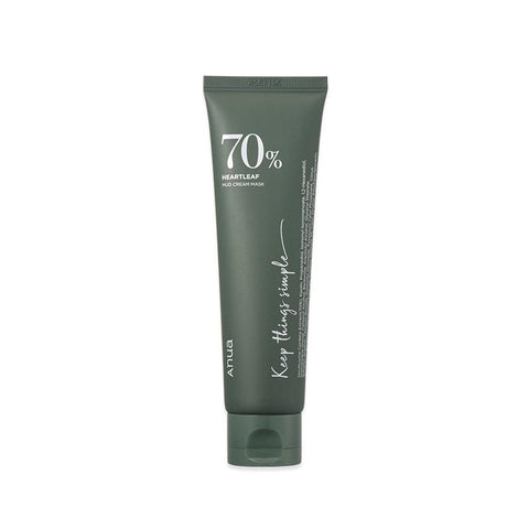 [Anua] Heartleaf 70% Mud Cream Mask 100ml