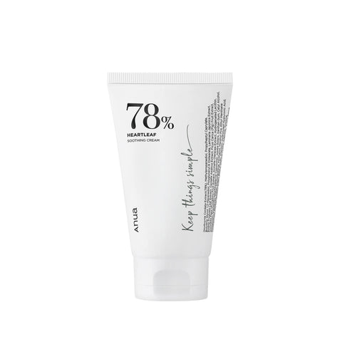 [Anua] Heartleaf 78% Soothing Cream 100ml