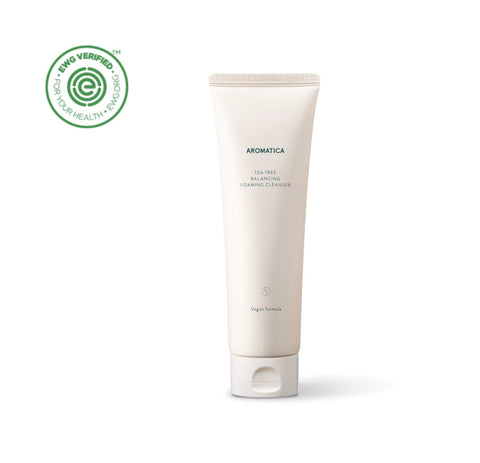 [Aromatica] Tea Tree Balancing Foaming Cleanser 180g