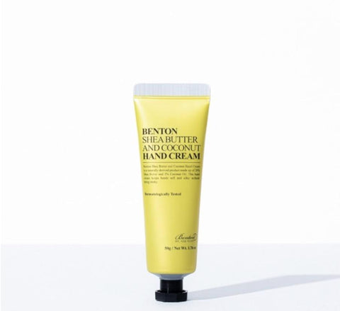 [Benton] Shea Butter and Coconut Hand Cream 50g