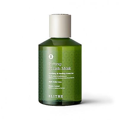 [Blithe] Patting Splash Mask Sheets Soothing & Healing Green Tea 150ml