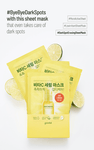 GOODAL Green Tangerine Vita C Dark Spot Serum Sheet Mask