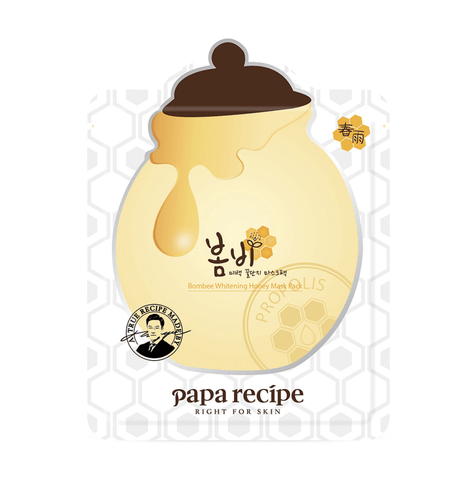 PAPA RECIPE Bombee Honey Sheet Mask (10 pieces)
